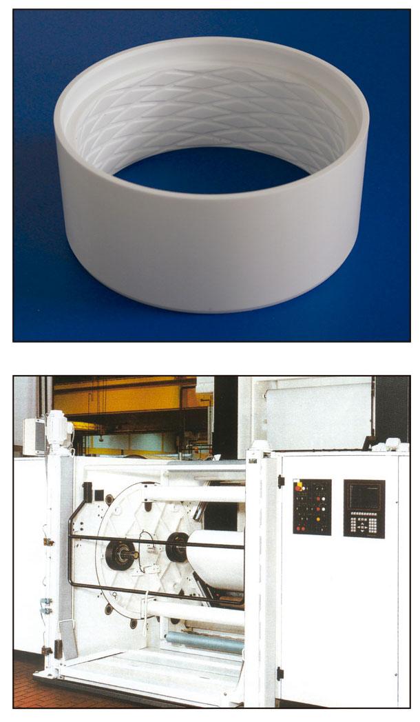 maquinaria-para-industria-del-papel-y-embalaje-casquillo-estructura-nido-de-abeja-en-maquina